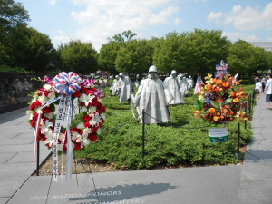Figure 5 - The Korean War Veterans Memorial on the National Mall, Washington DC
