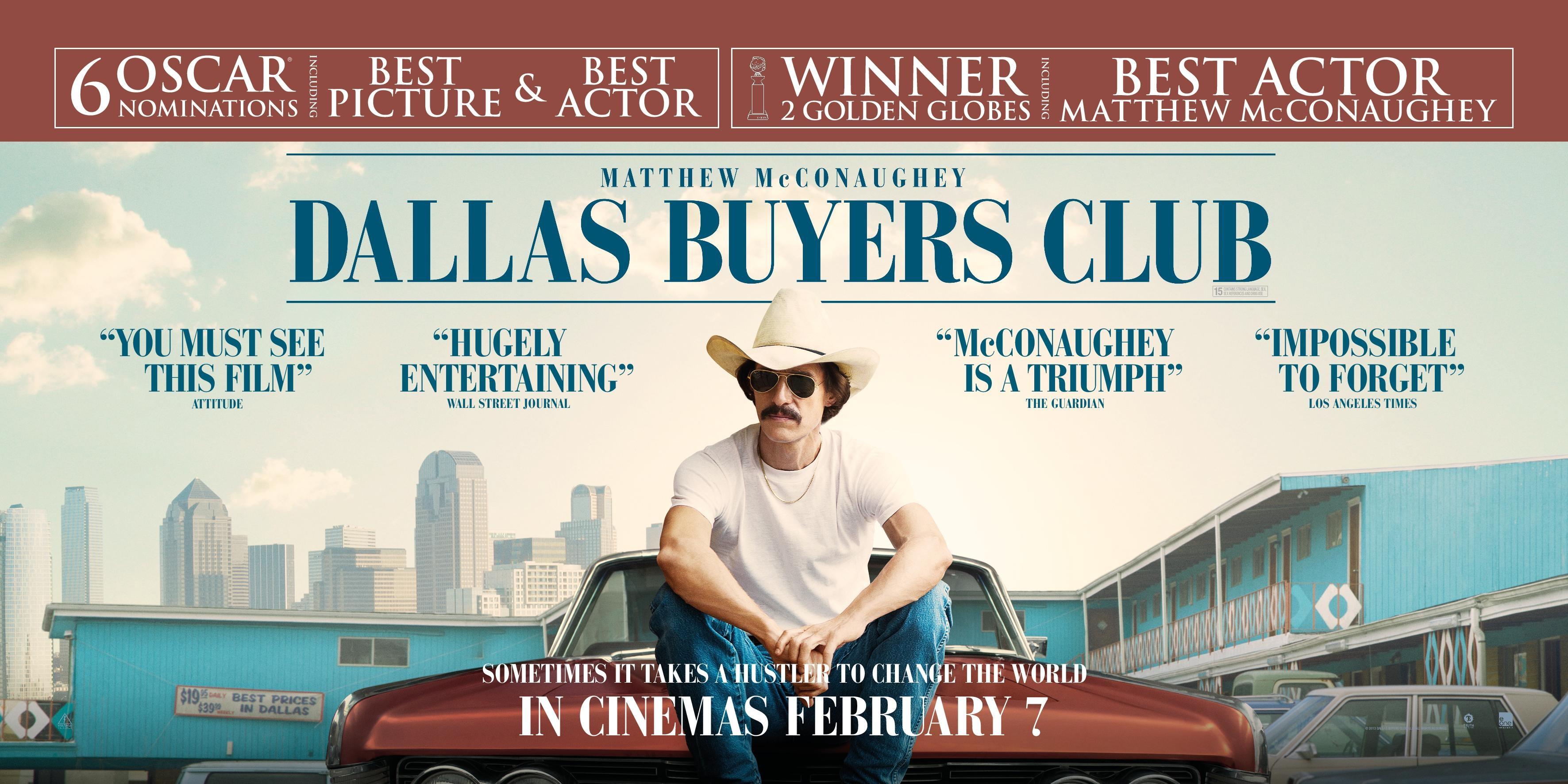 ダラス・バイヤーズクラブ -THE DALLAS BUYERS CLUB-