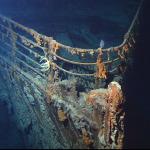 Titanic wreck in 2004