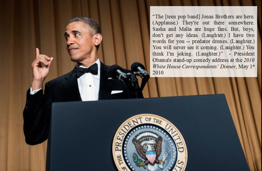 President Obama, White House Correspondents' Dinner (2010)