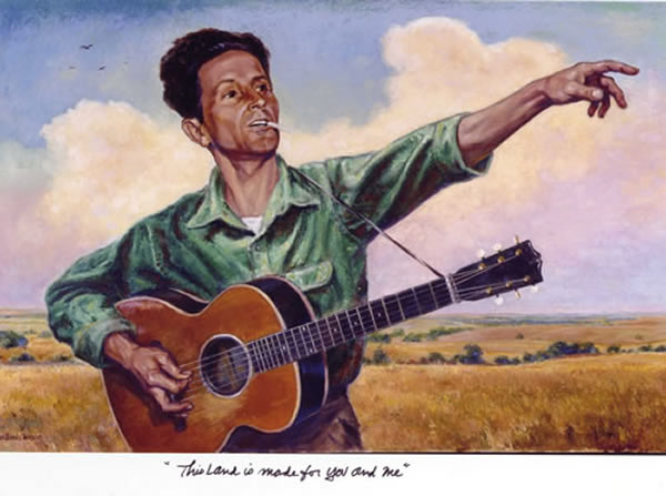 Woody Guthrie by Charles Banks Wilson (2004)