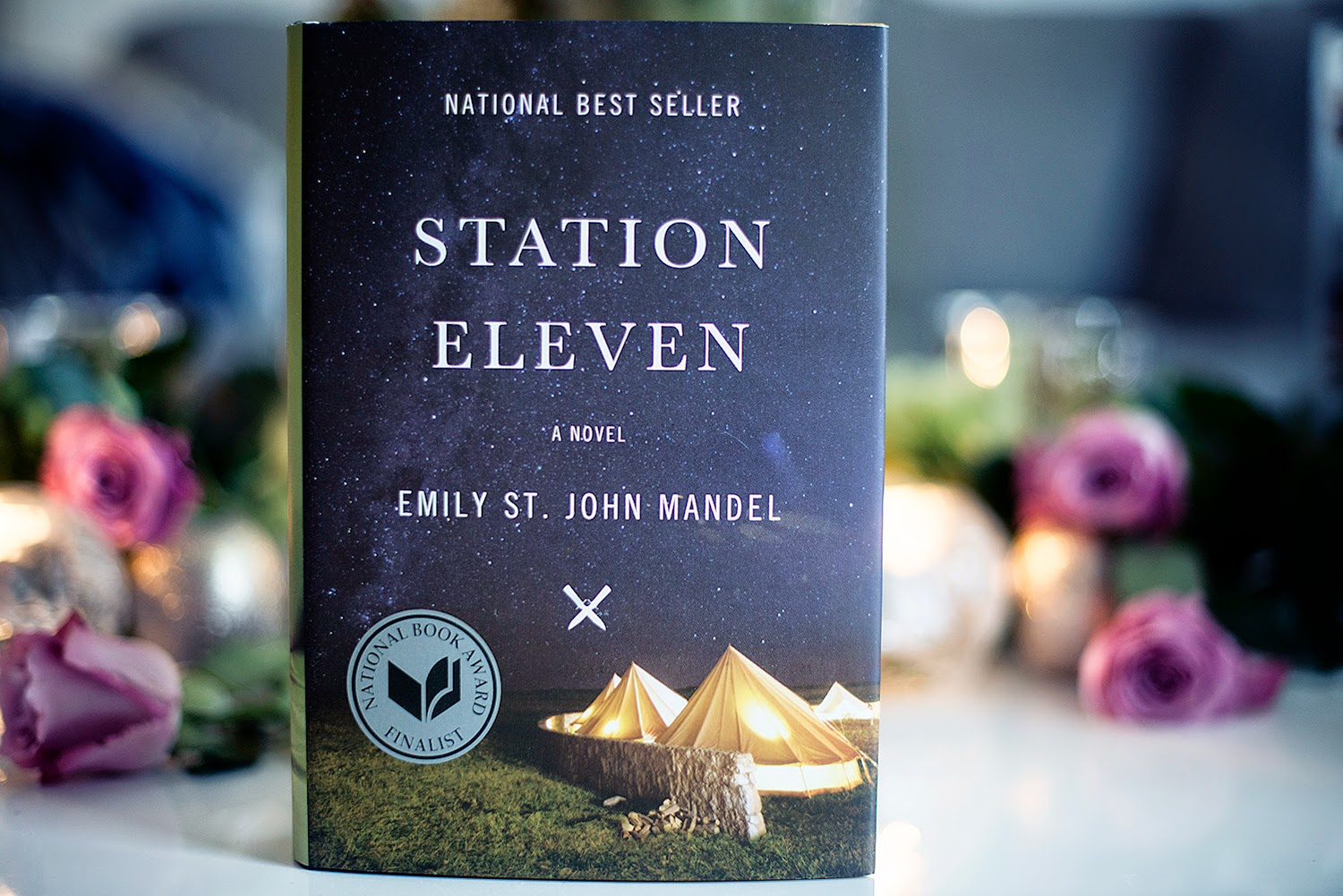On Tuesday 28th July, Diletta De Cristofaro Discussed Station Eleven By Emily  St John Mandel With Fran Bigman, Niall Harrison And Dan King