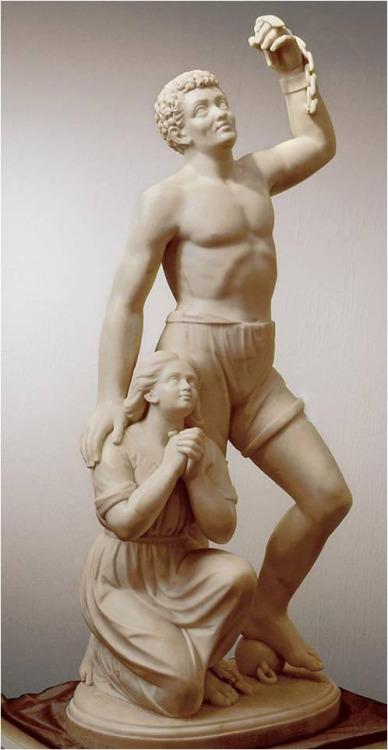 'Forever Free', Edmonia Lewis, 1867, Howard University, Gallery of Art, Washington, DC