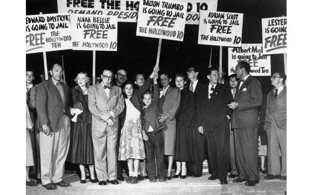 hollywood ten members Hollywood ten: the forgotten first amendment legacy of charles hamilton   he [was a]    member of the national legal committee of the american civil.