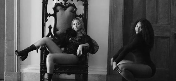 Beyonce and Serena
