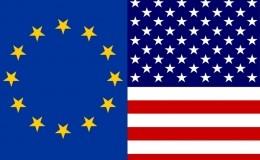 euro american flag