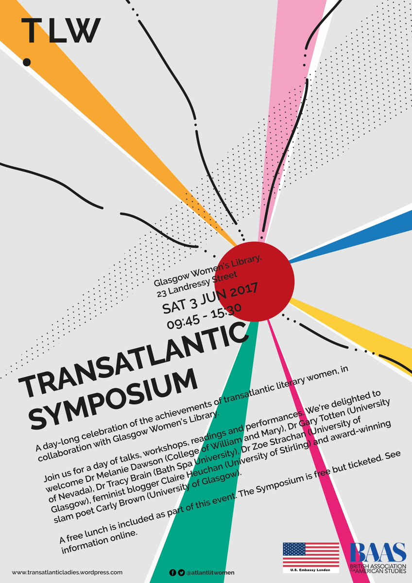 Review: Transatlantic Symposium, Transatlantic Literary Women Series